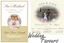 Wedding labels